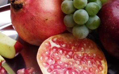 Granatapfel richtig schneiden
